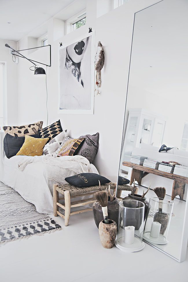 10 Inspirations For Having Scandinavian Interior Ideas In: 10 Chic Bohemian Bedroom Ideas