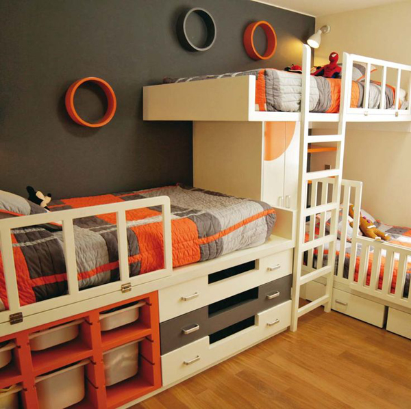boys bunk bed decorations
