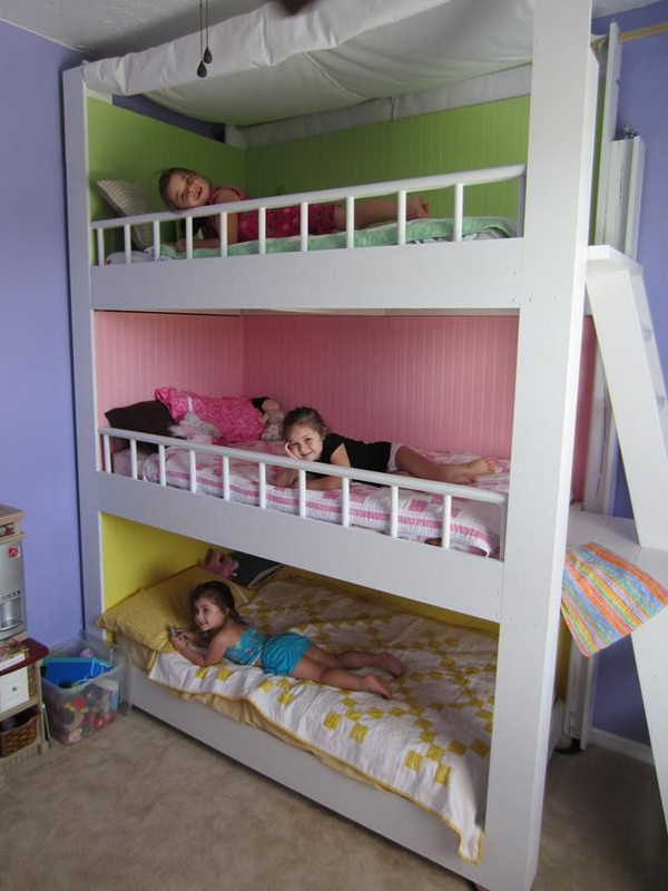 15 colorful kids bunk bed ideas house design and decor for Toddler bunk beds