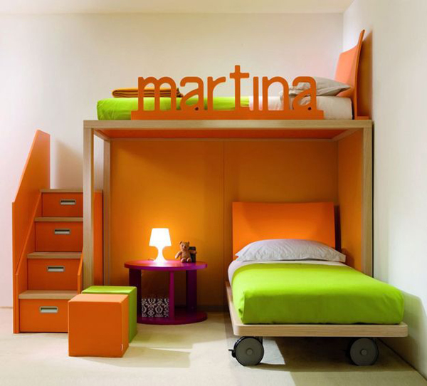 15 Colorful Kids Bunk Bed Ideas
