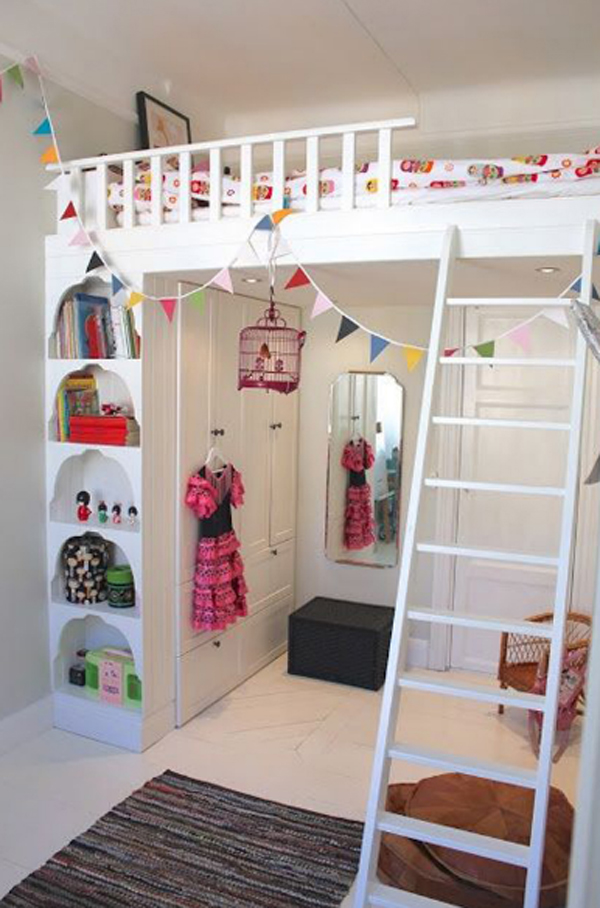 Decorating A Small Loft 20 awesome loft beds for small rooms | house design and decor