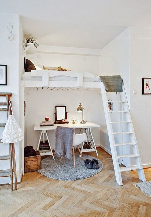 20 awesome loft beds for small rooms house design and decor - Loft beds for small rooms ...