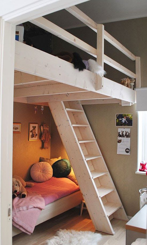 20 Awesome Loft Beds For Small Rooms House Design And Decor