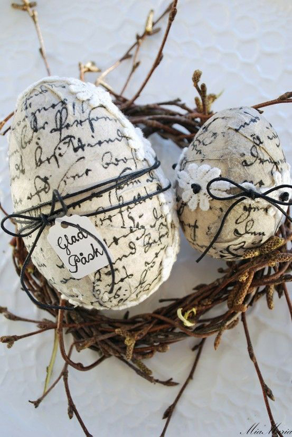 Vintage Easter Egg Craft Ideas