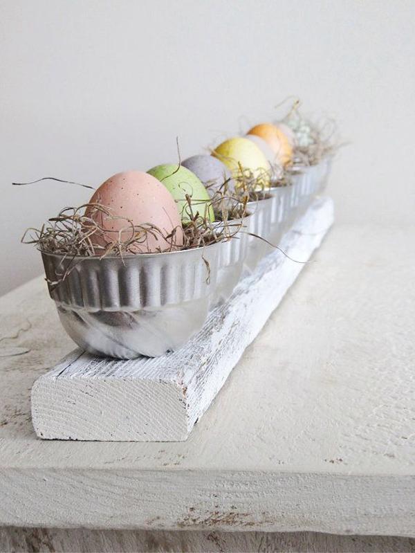 Vintage easter eggs