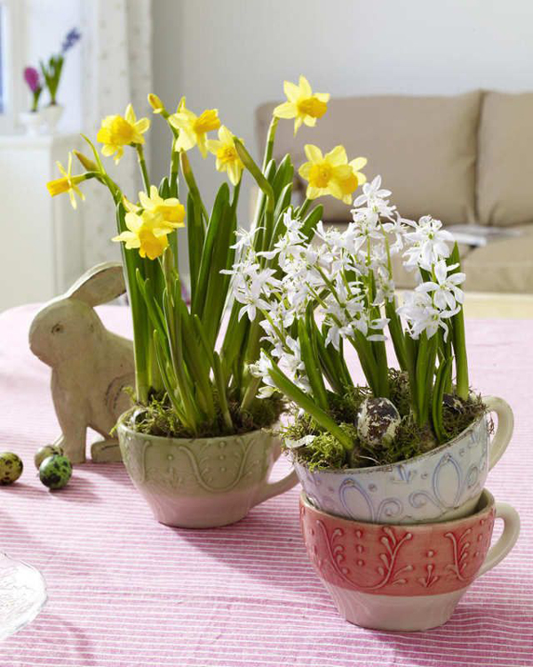 Wonderful vintage easter decorations house design and