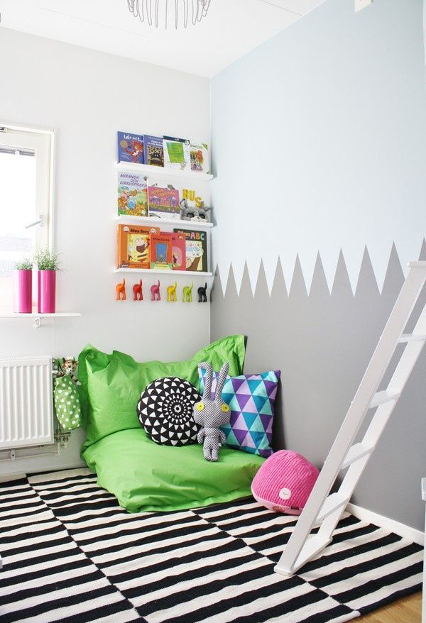 Create A Comfortable Reading Nook With These 10 Seating Ideas: 20 Creative And Cozy Reading Corner For Kids