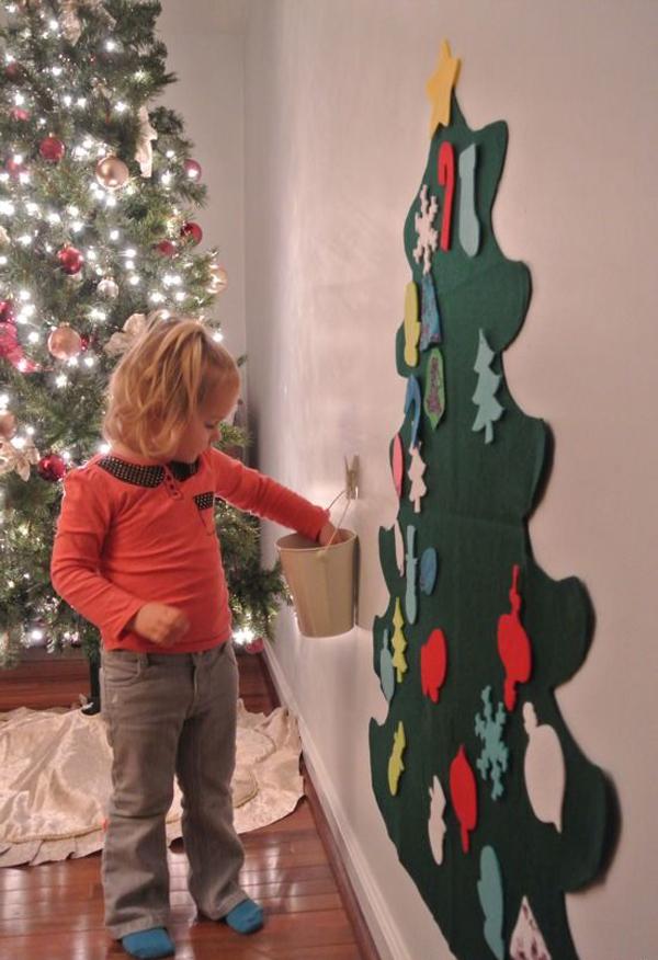 10 Simple DIY Christmas Tree For Kids | House Design And Decor