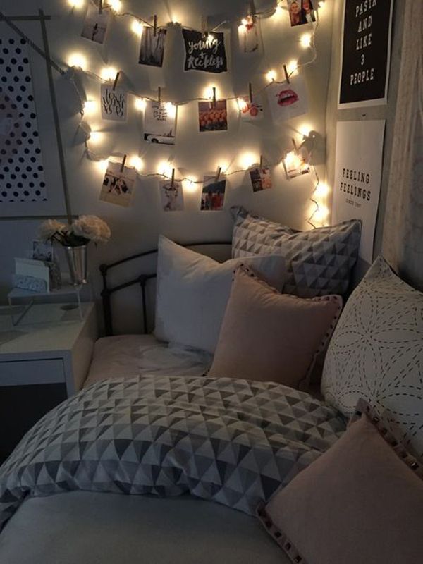 lovely teen lounge room ideas | 15 Lovely College Dorm Room Designs | House Design And Decor