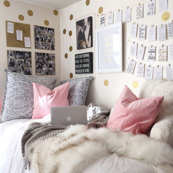 Attirant 15 Lovely College Dorm Room Designs