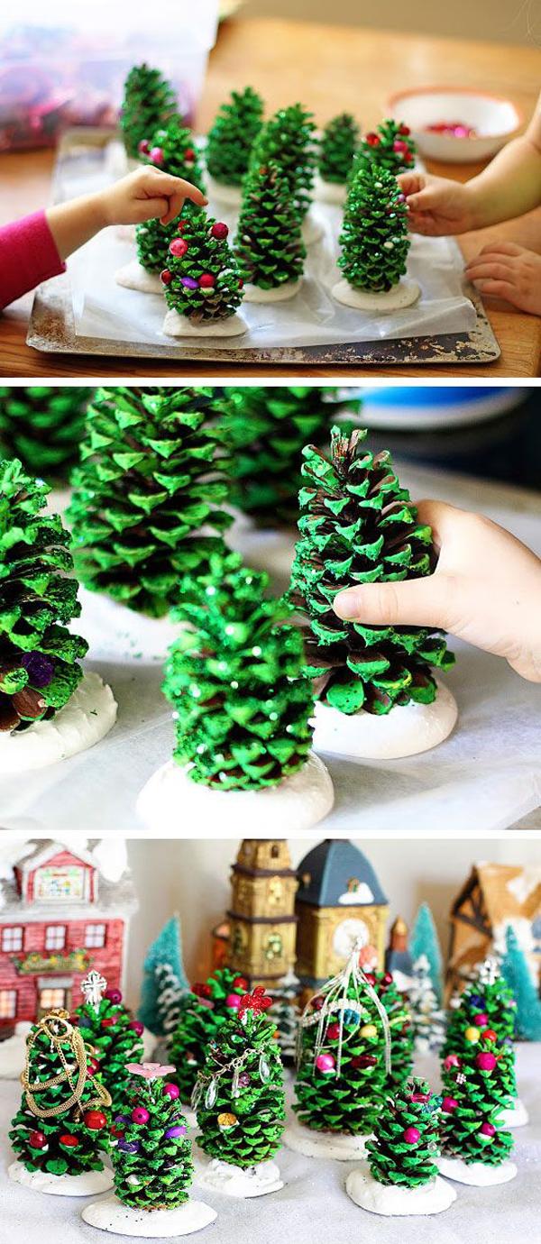 Small Diy Christmas Tree With
