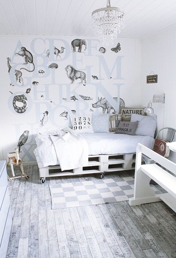 10 cool painted wallpapers for kids rooms house design for Cool room wallpaper