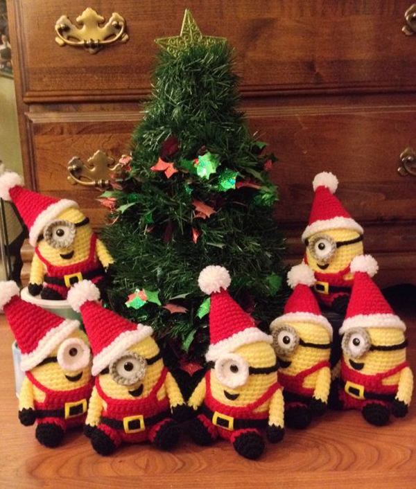 17 cute and adorable minion christmas theme house design and decor