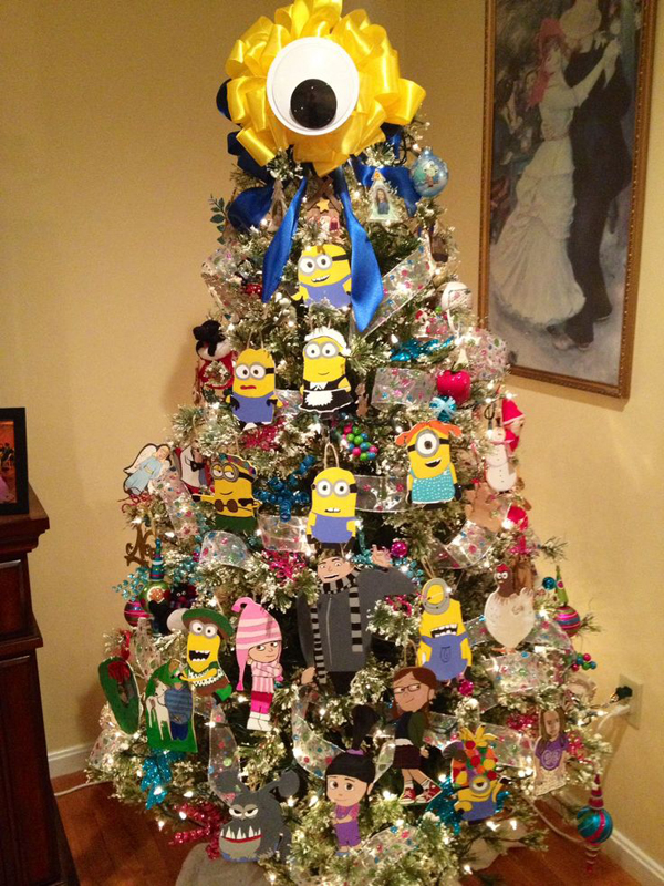 Minion Despicable Me Christmas Tree