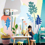 10 Cool Painted Wallpapers For Kids Rooms