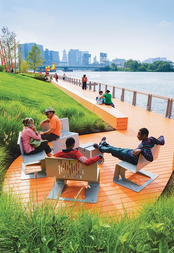 20 Incredible Benches For Public Park