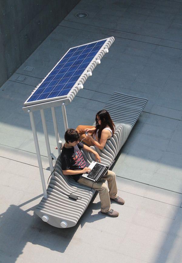 Romantic Public Benches Design