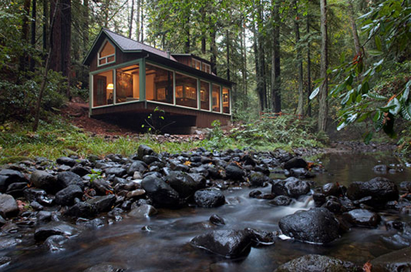 Beautiful Cabin To Disappear With Nature