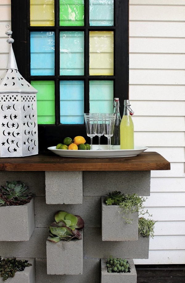 20 Cheap And Creative Cinder Block Furniture