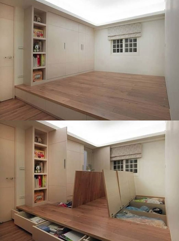 small house storage solutions