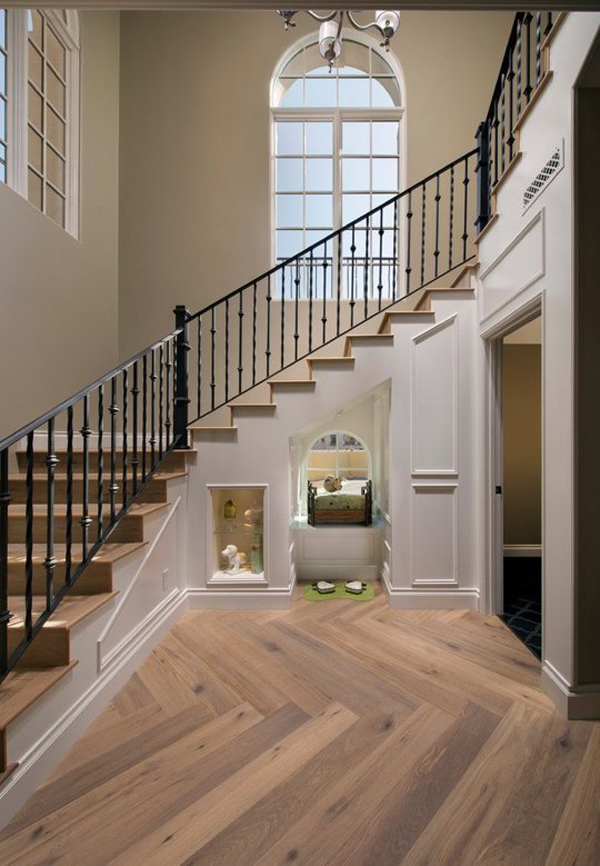 17 indoor dog houses for your pet 39 s dream house design Inside staircase in houses