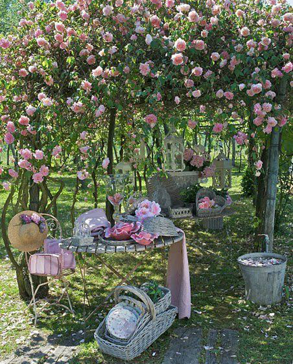 25 fabulous garden decor ideas home and gardening ideas 17 for Garden decoration ideas pictures