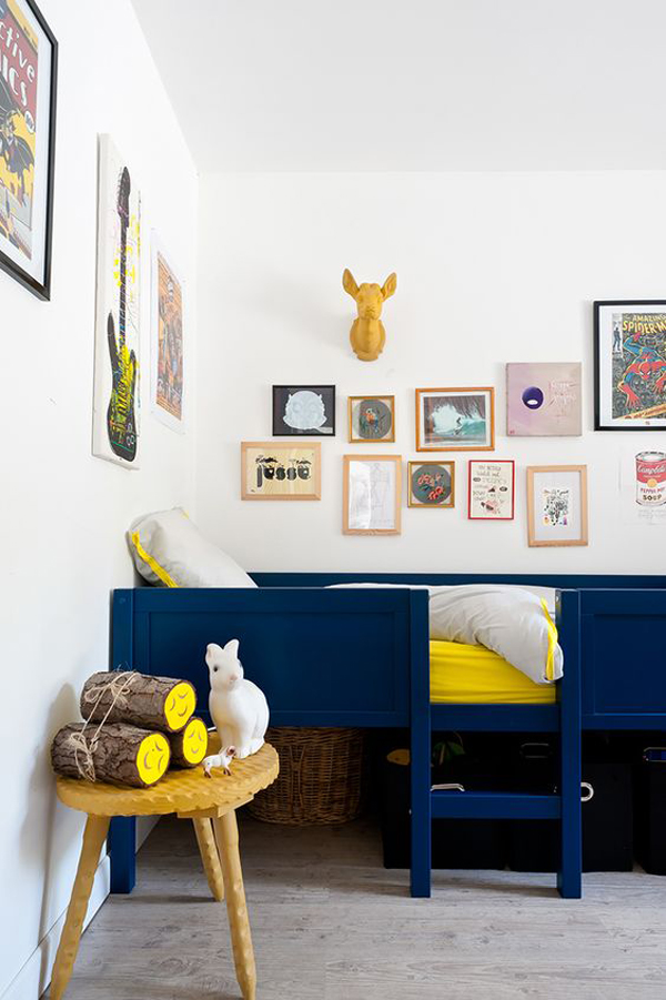 Decorating Kids Room: 15 Cool And Calming Blue Kids Room Designs