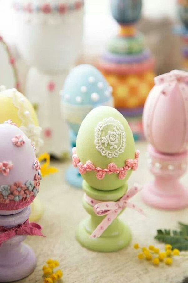 20 beautiful easter d cor ideas with pastel color house for Beautiful pastel colors