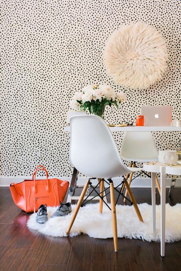 10 spotted dalmatian dot prints for your interior house design and decor - Decoration bureau maison ...
