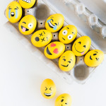Cute Ways To DIY Emoji Easter Eggs