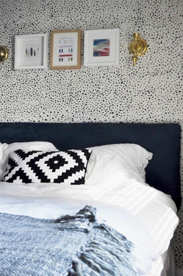 Bedroom Wallpaper Leaf