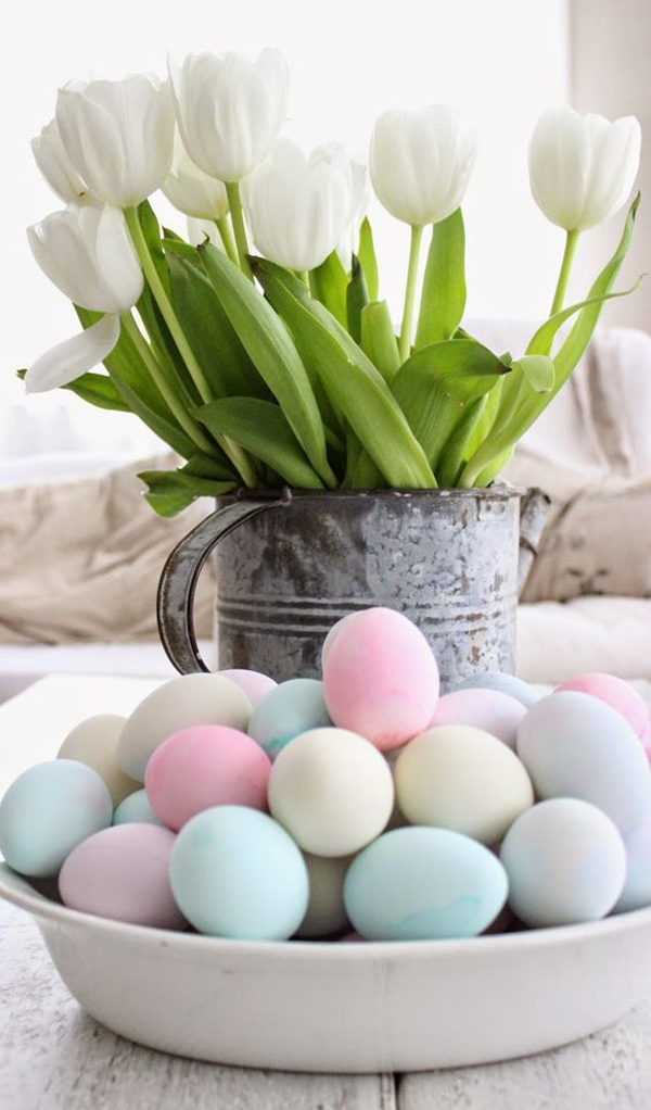 20 Beautiful Easter Décor Ideas With Pastel Color