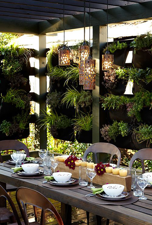Beautiful diy vertical garden ideas house design and decor for Diy vertical garden wall