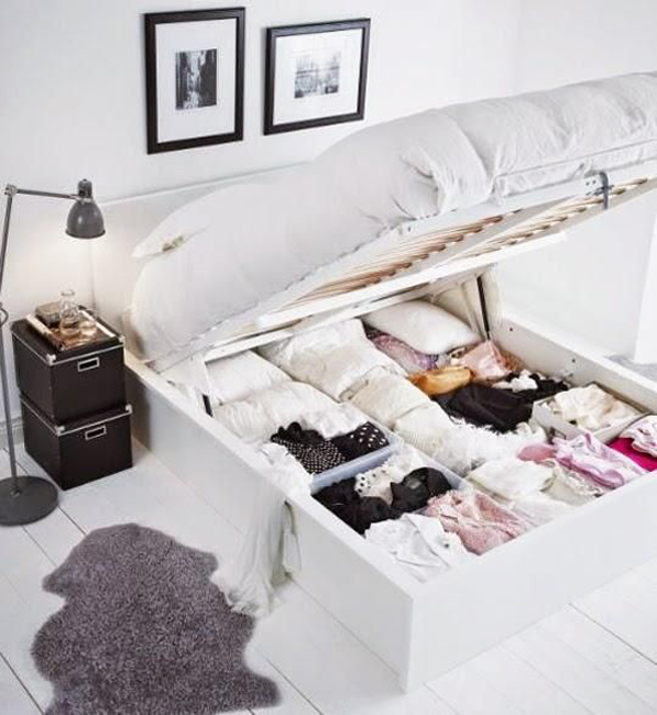 17 genius under bed storage ideas for tiny bedroom house - Under the bed storage ideas ...