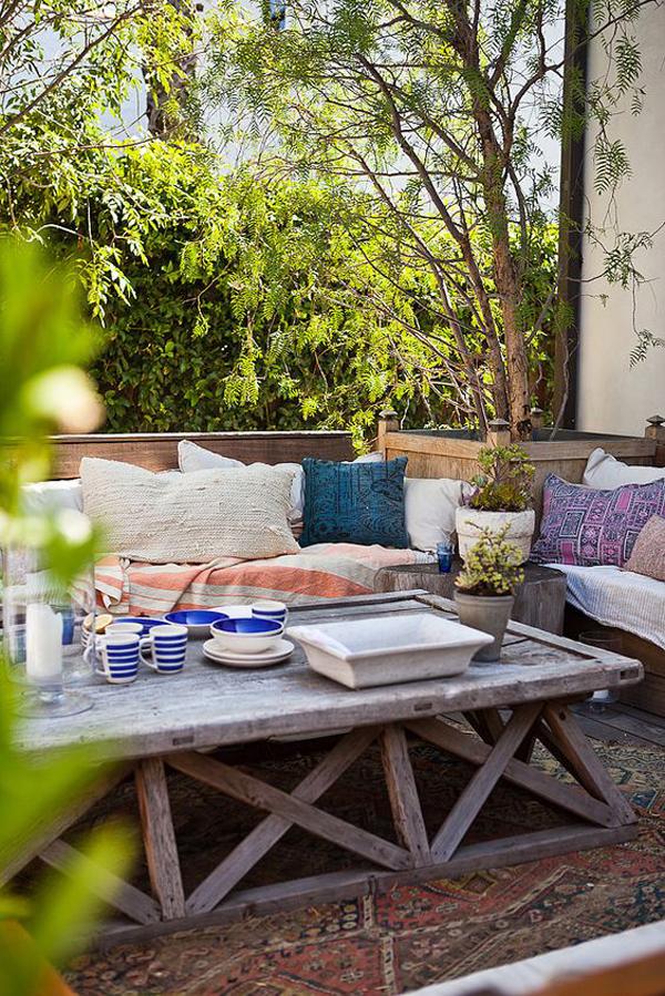 22 Artistic Mediterranean Outdoor Living Areas House Design And Decor