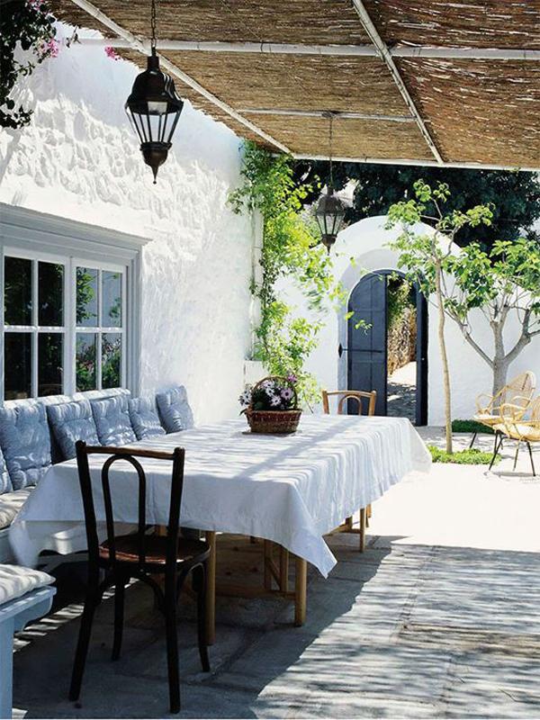 Outdoor Terrace Garden Seating Areas