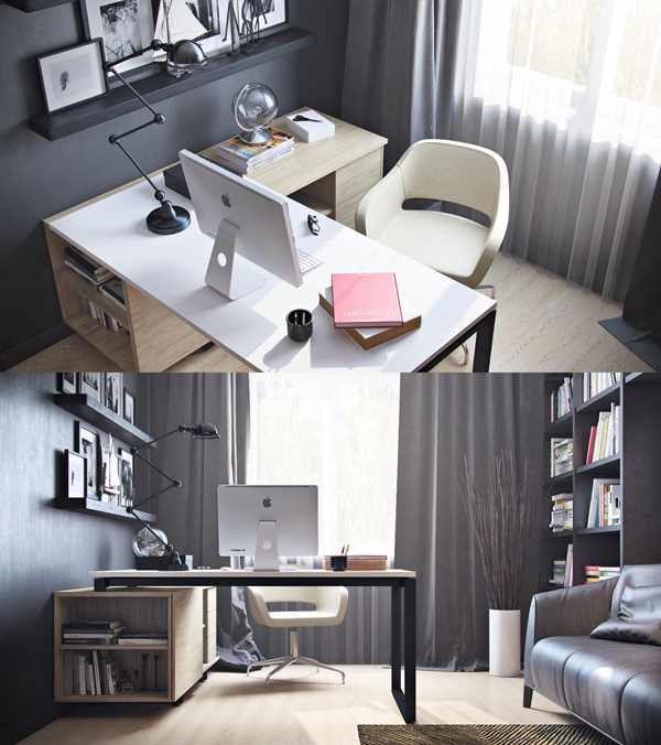20 Modern Workspace For Refresh Your Offices