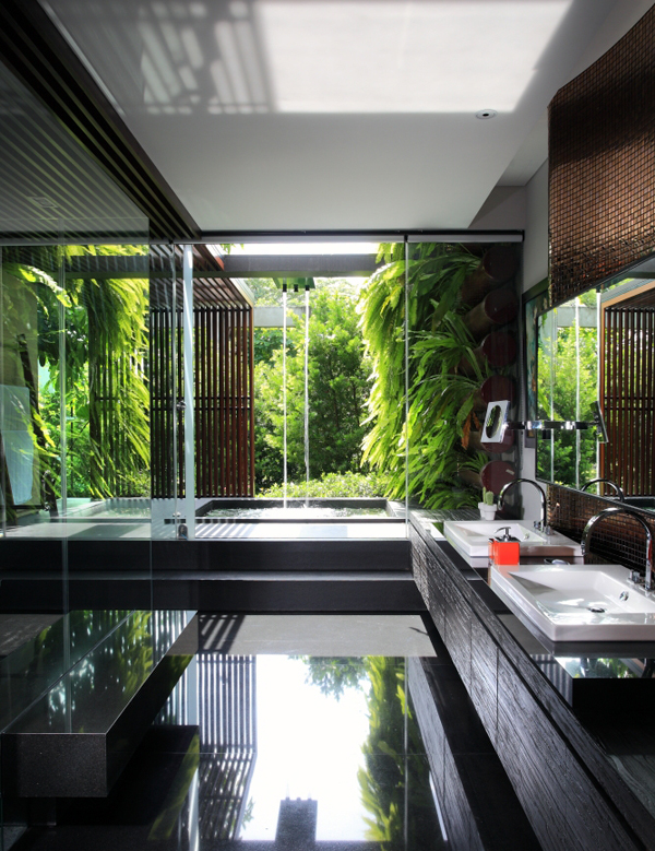Modern Indonesian House To Merge With Nature House Design And Decor
