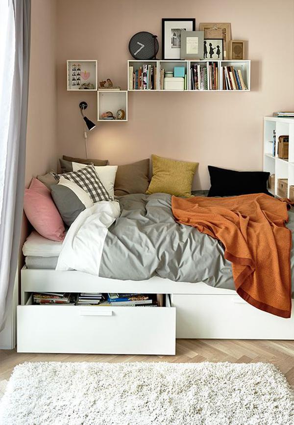 Simple Diy Under Bed Drawer Storage