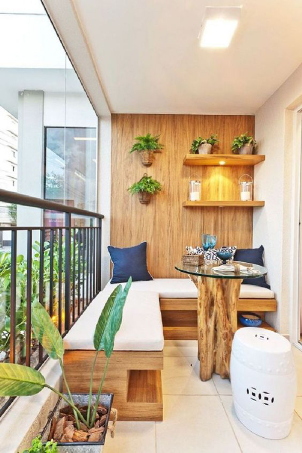 15 small balcony apartment with charming looks house for Apartment balcony decoration