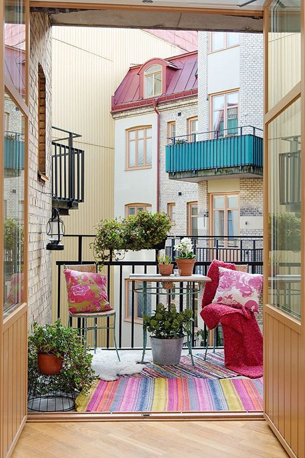 15 small balcony apartment with charming looks house for Apartment design with terrace