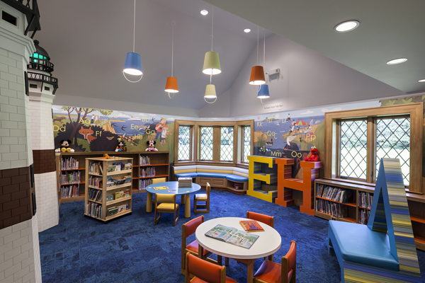Children S Reading Public Library With Play Areas House Design And Decor