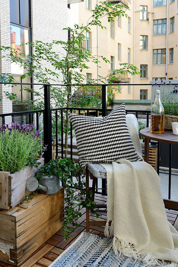 Small Apartment Balcony Garden Ideas
