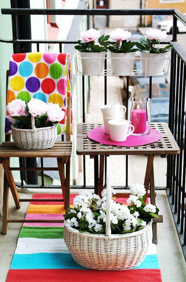10 Beautiful Tiny Balcony To Narrow Space Ideas