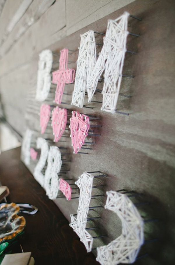20 Fun Diy Thread And Nails String Art House Design And