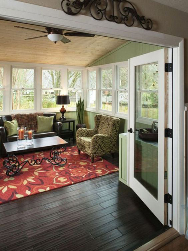 15 Bright Sunrooms That Take Every Advantage Of Natural Light: 20 Amazing Sunroom Ideas With Natural Sunlight