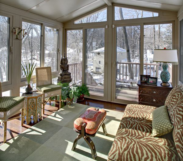 15 Deck Lighting Ideas For Every Season: 20 Amazing Sunroom Ideas With Natural Sunlight