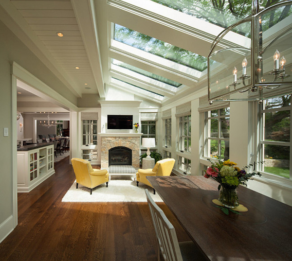 7 Amazing Houses Built Into Nature: 20 Amazing Sunroom Ideas With Natural Sunlight