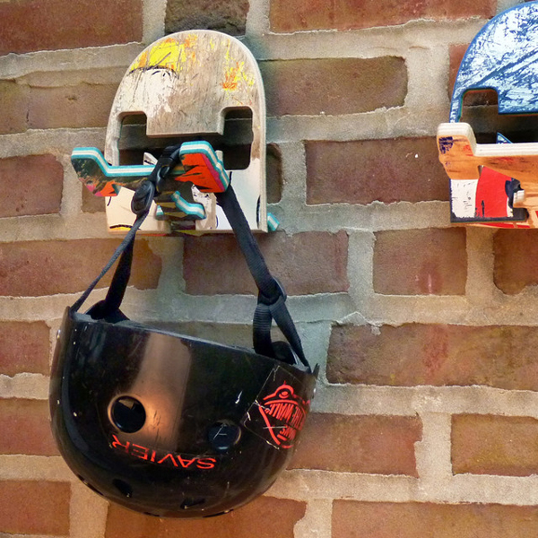 20 Cool And Fresh Skateboard Recycled Ideas House Design