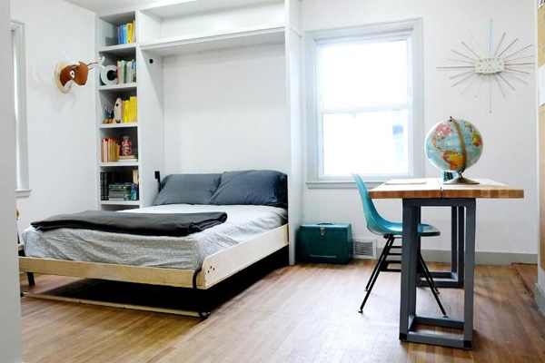 creative and efficient college bedroom ideas house design and decor